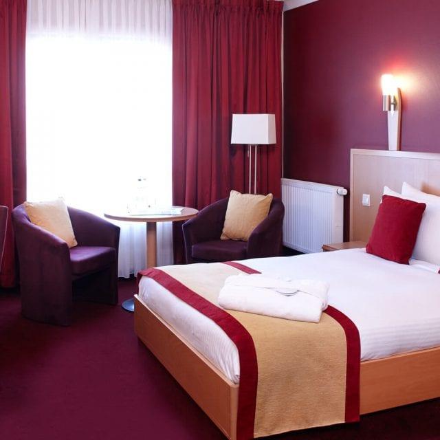 Standard hotel room at Clayton Leeds