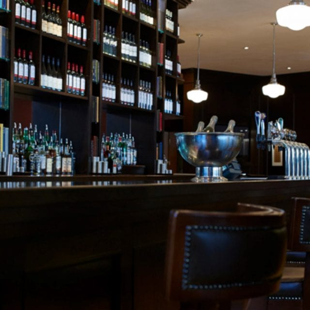Bar Drinks served in the Inkwell Bar at Clayton Hotel Leeds