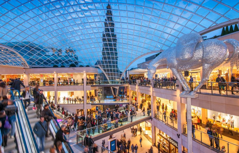 shopping centre Trinity leeds