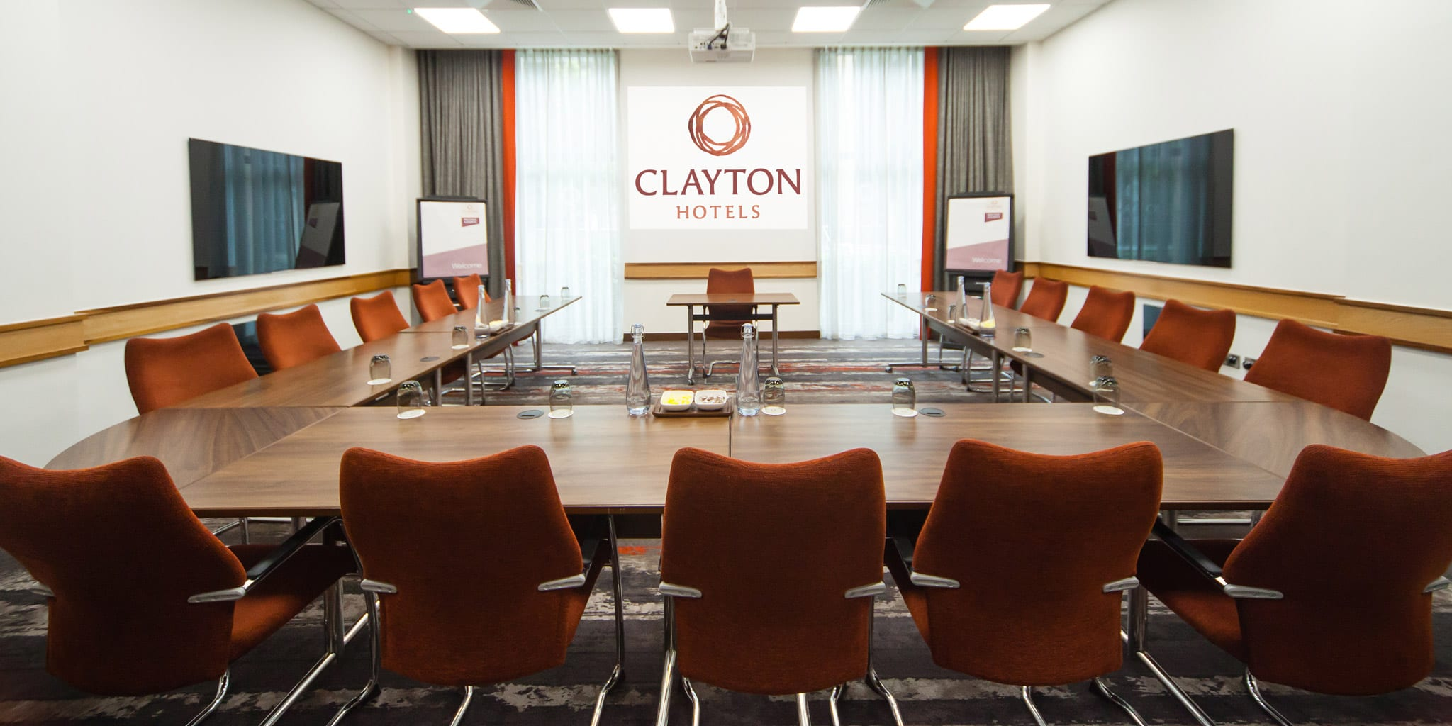 Meeting room in U-Shape style at Clayton Leeds
